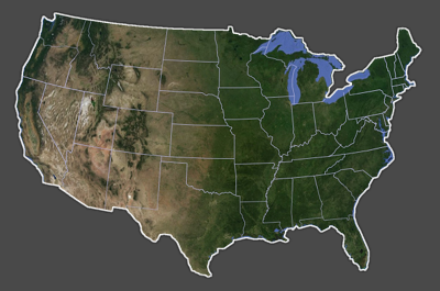 My Interactive Image ThingLink - Usa width coast to coast