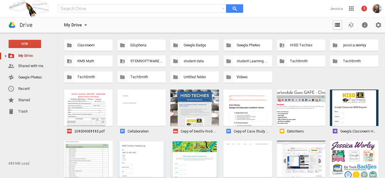 how to put a google doc in a folder