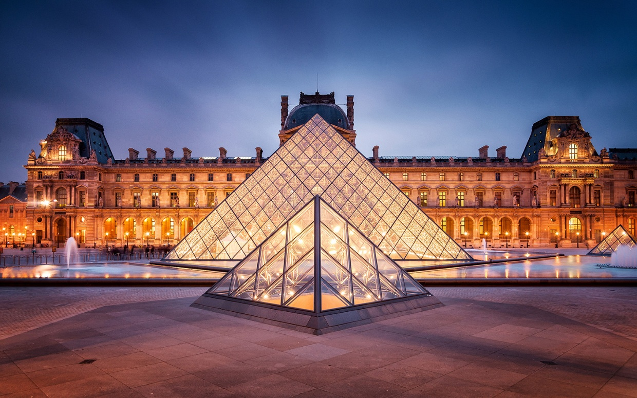 The Louvre By: Vincent G