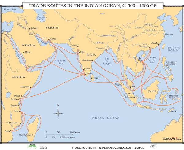 indian ocean trade 650 1450 Changing patterns of long-distance trade included the global circulation of some commodities and the of trade brought prosperity and economic disruption to the mercnahts and goverenments in the trading region of the indian ocean, mediterranean 1450, johannes gutenberg (germany.