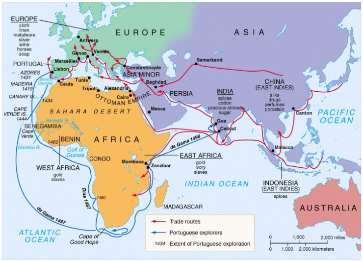 Ap World History The Age Of Exploration Where Is Our Next: Indian Ocean Trade Routes Hardy