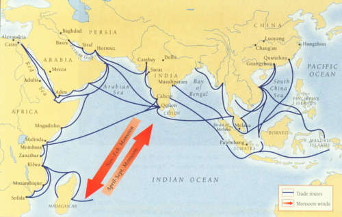 Indian Ocean Trade Routes Hardy- e B. on afghanistan map, ogallala aquifer map, marco polo route map, indian ocean sea routes, ancient trade routes map, indian ocean maritime routes, eurasian trade routes map, indian ocean commerce, indian ocean commercial network, indian ocean trading network, silk road map, alexander the great route map, indian ocean sea lanes, world trade routes map, india trade map, silk route map, persian empire map, crusades route map, aryans route map, vikings route map,