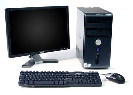 Computadora de escritorio for Escritorio para computadora