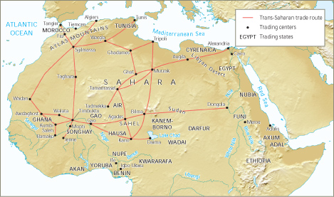 west africa mediteranean trade 600 1450 ccot • discuss the changes and continuities in the silk road trading network from 600 bce - 1450 mediterranean africa's relationship with the west.