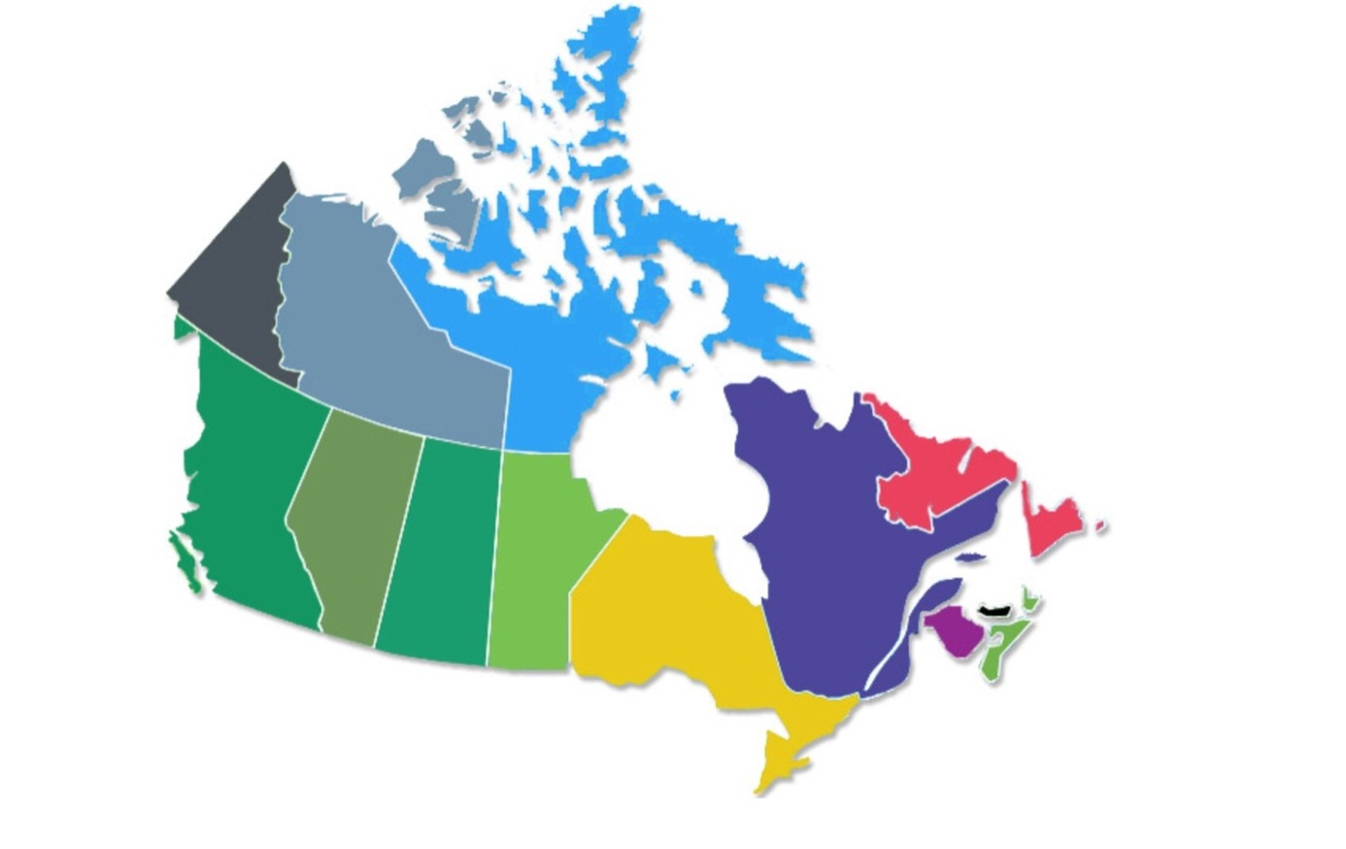 Map Of Canada With No Words Canada