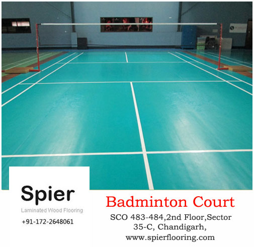 Indoor badminton court thinglink for Indoor badminton court height