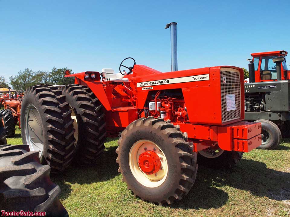 I drove my dads 200 Allis Chalmers for the first time