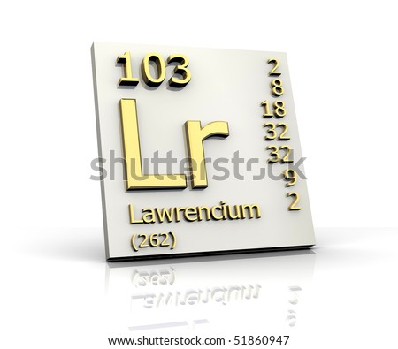 lawrencium atomic mass - photo #25