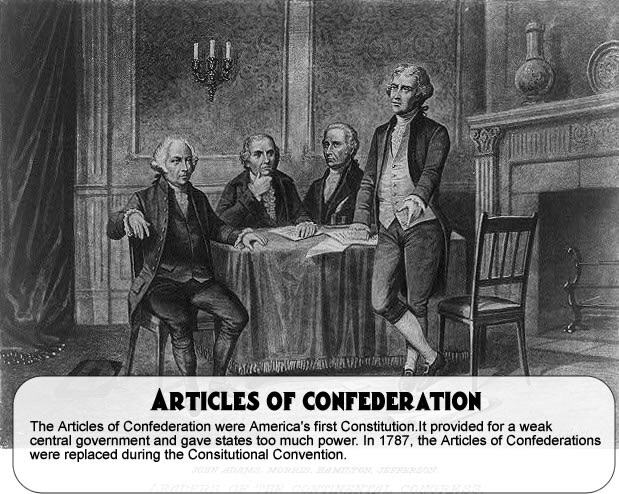 the equally that the articles of confederation brought in america The present united states constitution replaced the articles of confederation on march 4, 1789 articles of confederation: primary documents of american history the articles of confederation and american political ideas niwot: university press of colorado, 1992 [catalog.