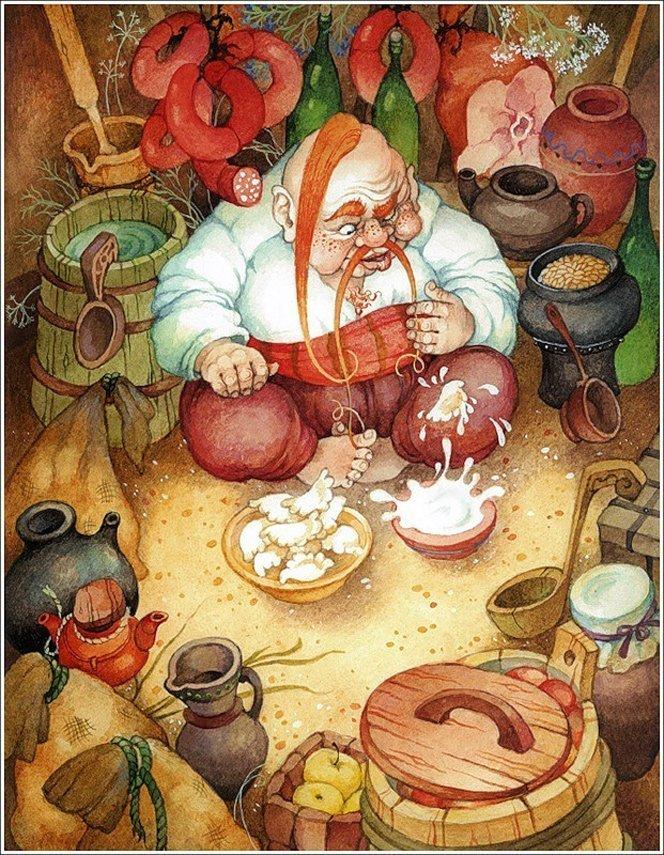 смешные картинки про новогодние вареники съел все макароны