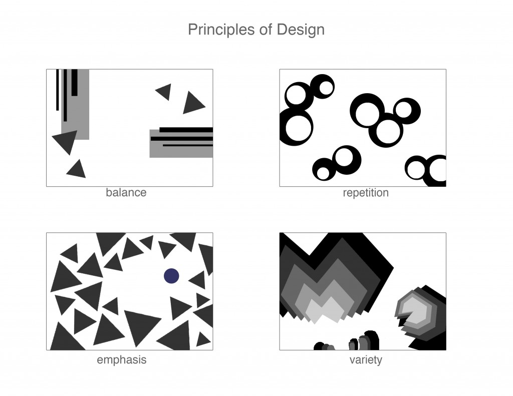 Different Principles Of Design : Rodriguezs vocab design principles