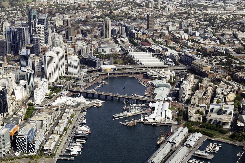 Harbourside Car Park Darling Harbour
