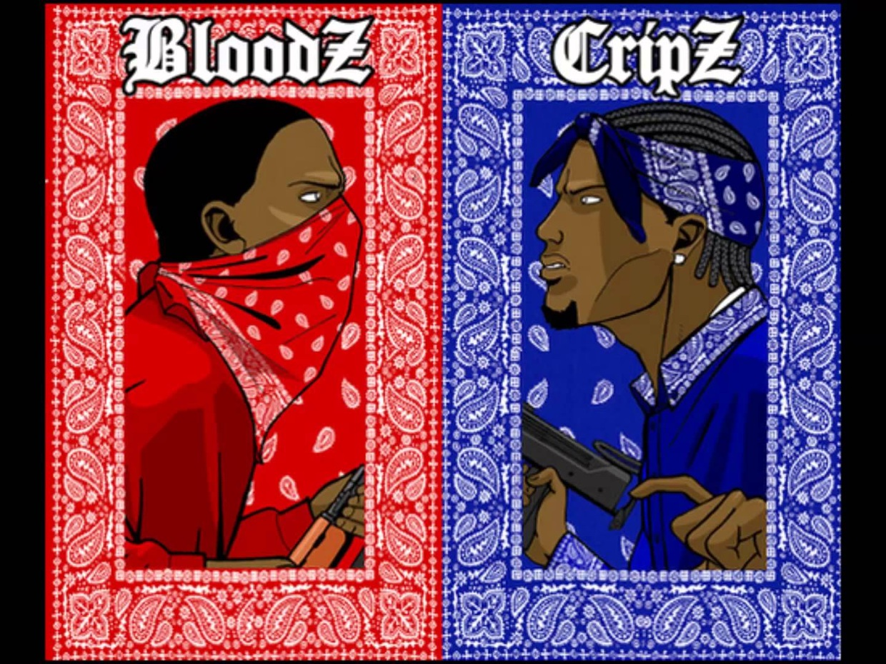 Confict Resolution (Bloods vs The Crips) - ThingLink