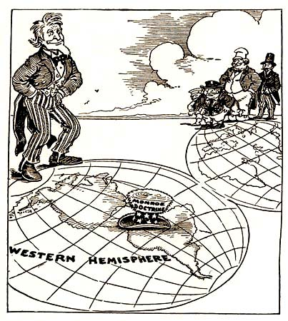 an analysis of the concept of the monroe doctrine Monroe doctrine analysis essaysmonroe doctrine analysis position paper in 1820, there were many successful revolts of most of spain's latin american colonies, which caused a great diplomatic challenge for the newly elected president monroe.