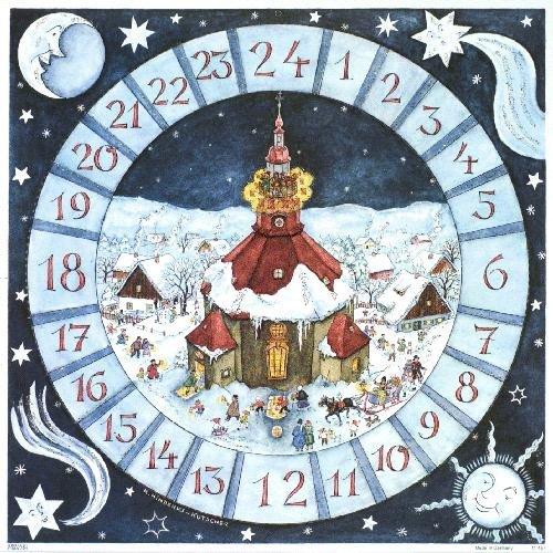 Julkalender rymdtema