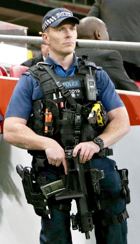 Armed Police Officer Equipment