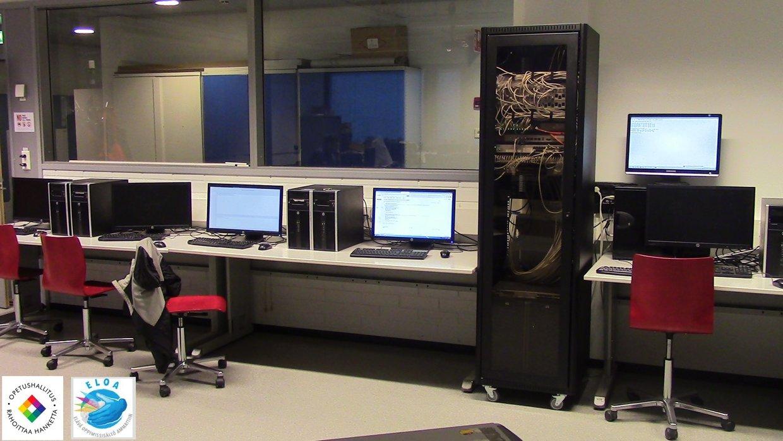 Eloa-hanke: Tieto- ja tietoliikennetekniikka - ICT- asentaja