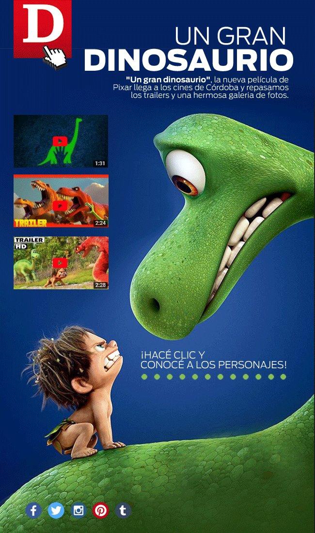 26/11 Un gran dinosaurio estreno