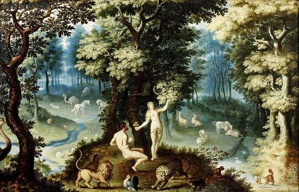 Jacob savery le jeune le jardin d eden thinglink for Jardin eden prairie