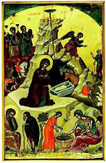 Τί μας διδάσκει η ορθόδοξη εικόνα της γεννήσεως του Χριστού