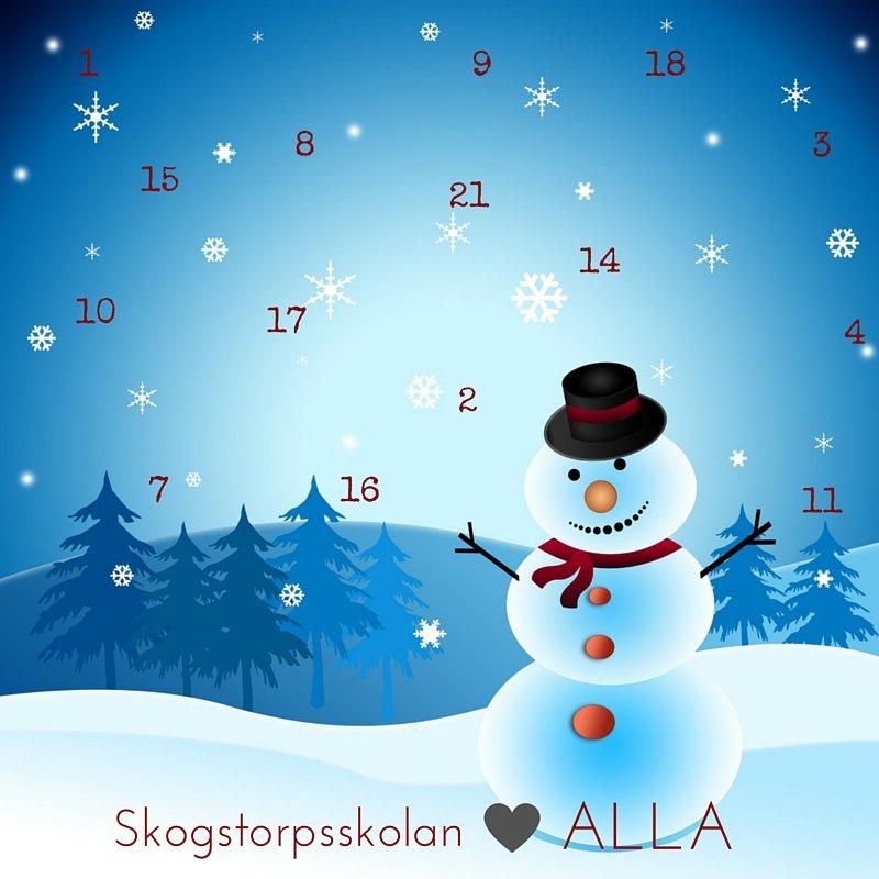 Skogstorpsskolans snällkalender 2015. Ta hand om varandra!
