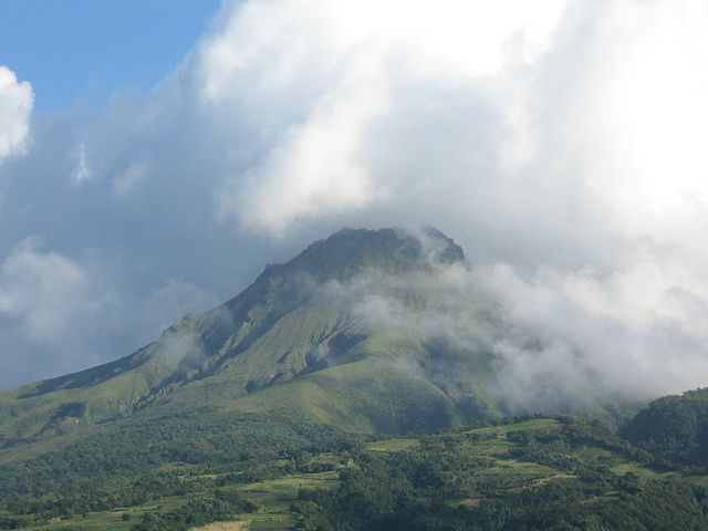 Mount Pelee last erupted in 1932 and that was 76 year's a ... - photo#11