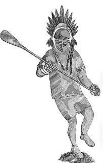 Native American Lacrosse - GG
