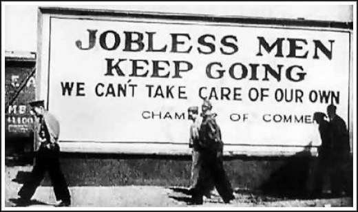 the effects of the great depression in america in the story of mice and men The depression and of mice and men in the book of mice and men written by john steinbeck, in the height of the great depression.