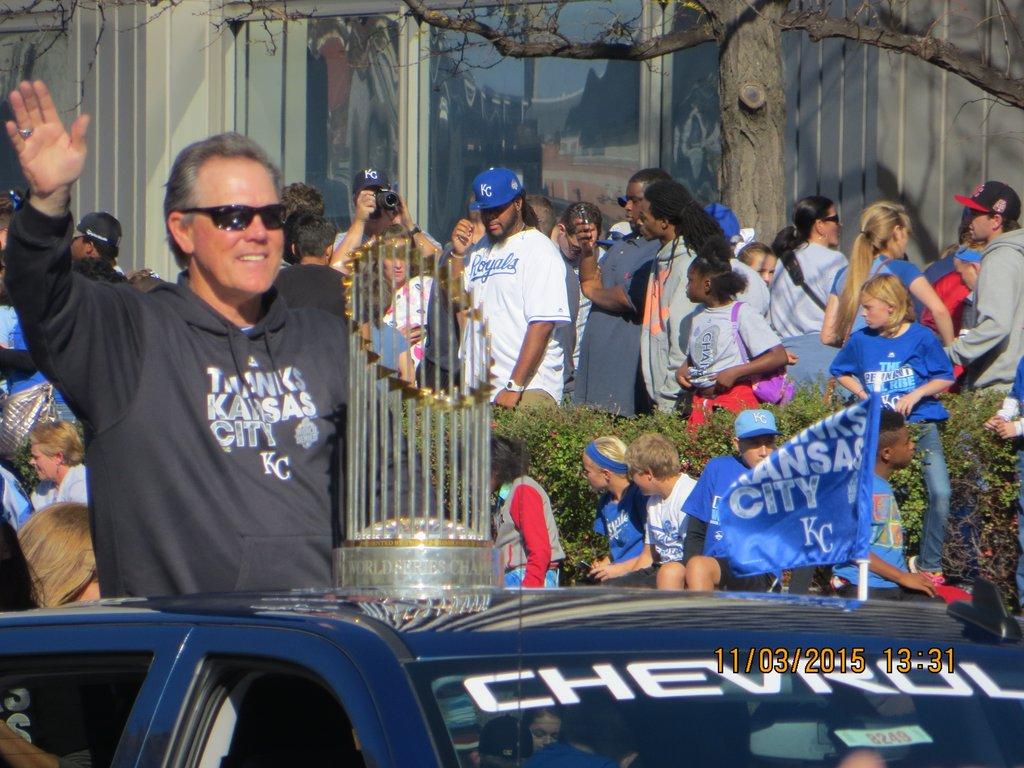 Kansas City Royals 2015 World Series Parade, World Series...