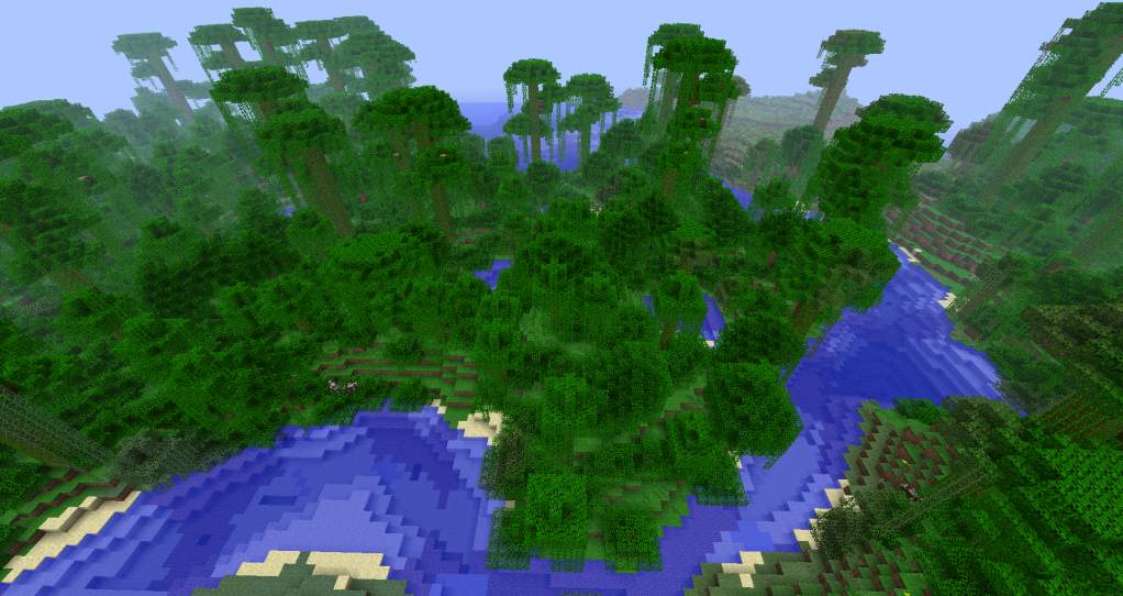 survive jungle 1 The other materials available will depend on the biomes it makes frontier with  unlike the wood and berries of the jungle, and the metal and stone  in order to.