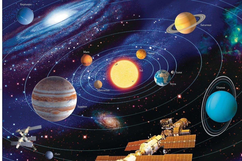 Il sistema solare for Immagini sole da colorare