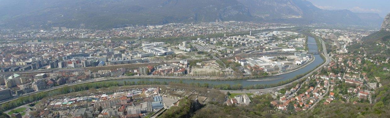 La presqu'île de Grenoble