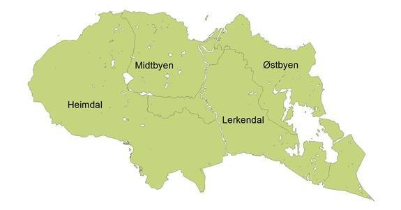 kart over trondheim bydeler Dette visste du ikke om Trondheim   adressa.no kart over trondheim bydeler