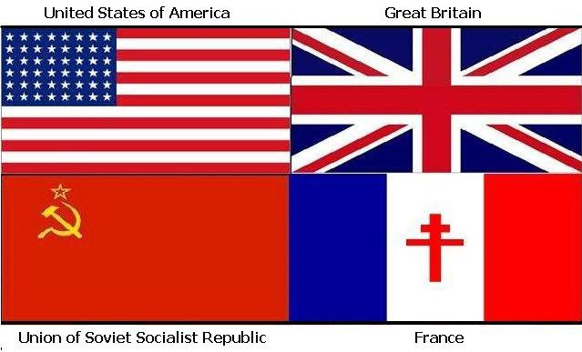 Allied powers was United states, great britain, france, a...