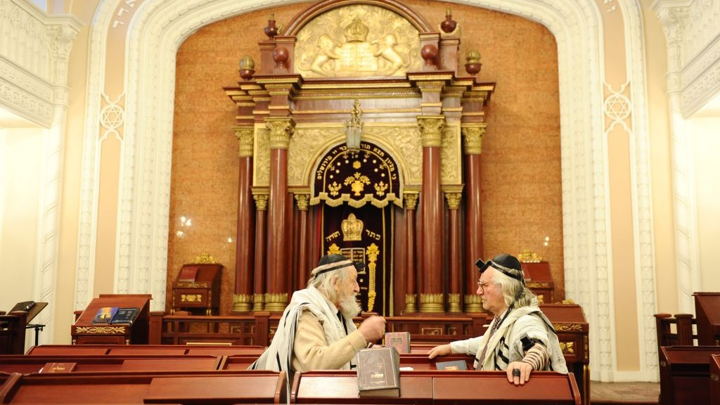 Inside A Synagogue S W