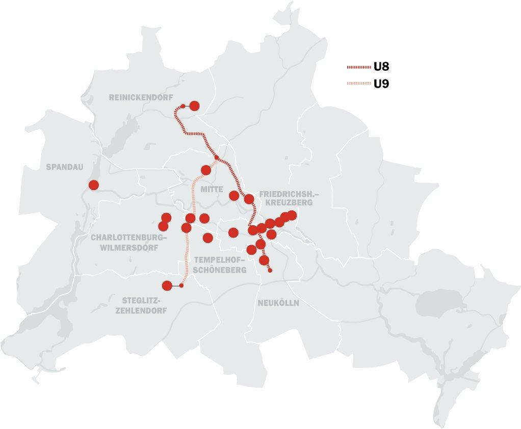 Wo Berlin gefährlich ist