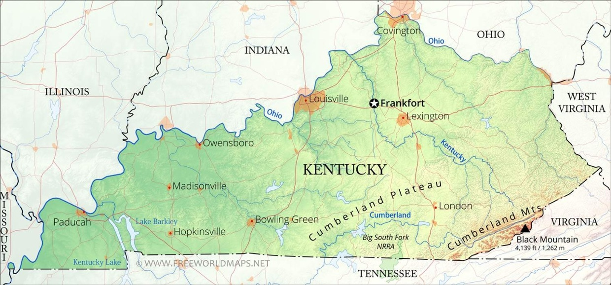 Officially the Commonwealth of Kentucky is a