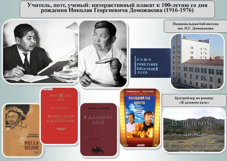 В 2016 году исполняется 100 лет со дня рождения Николая Г...