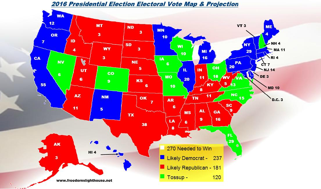 Election 2016 Projection ThingLink