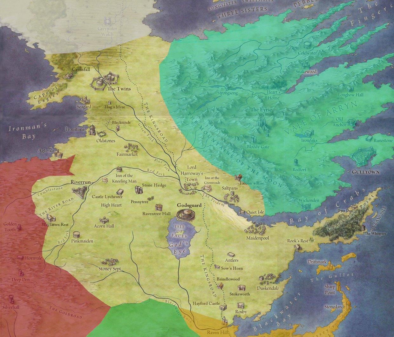 Image result for riverlands map
