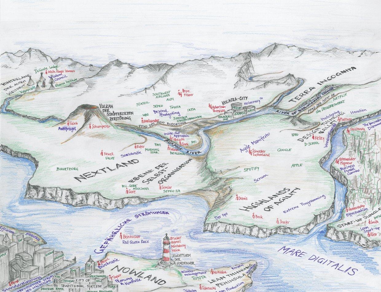 landkarten des lebens Nextland: Auf zu neuen Ufern   Eine Karte des Managements landkarten des lebens
