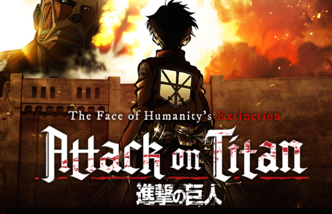 Anime Characters Speaking English : Attack on titan thinglink