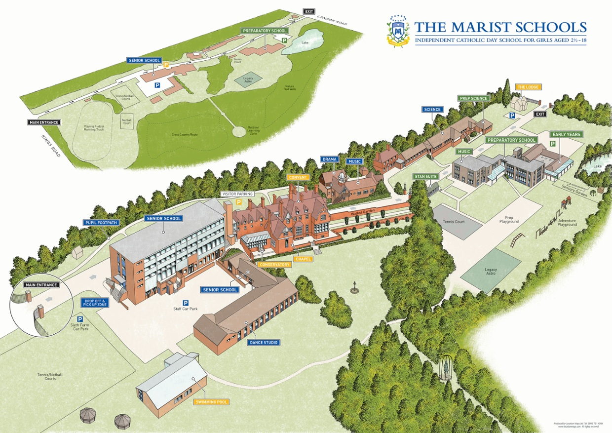Interactive Campus Map Of The Marist