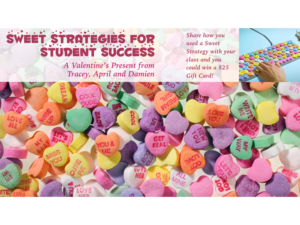 Sweet Instructional Strategies 2016
