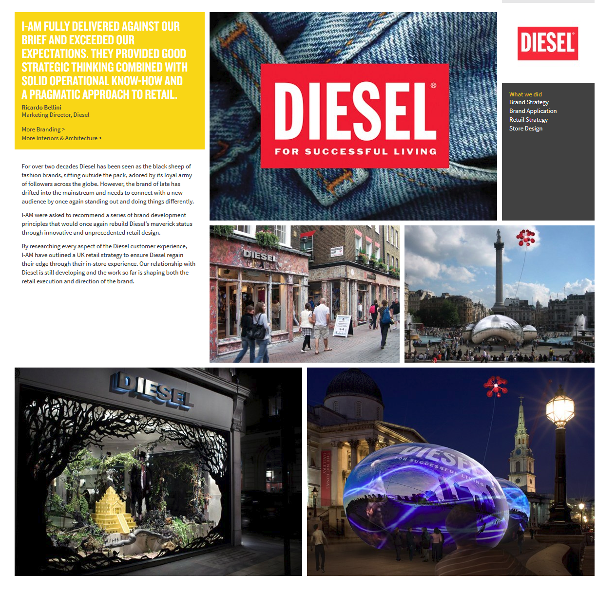 Diesel - Brand Strategy & Application and Brand Positioning
