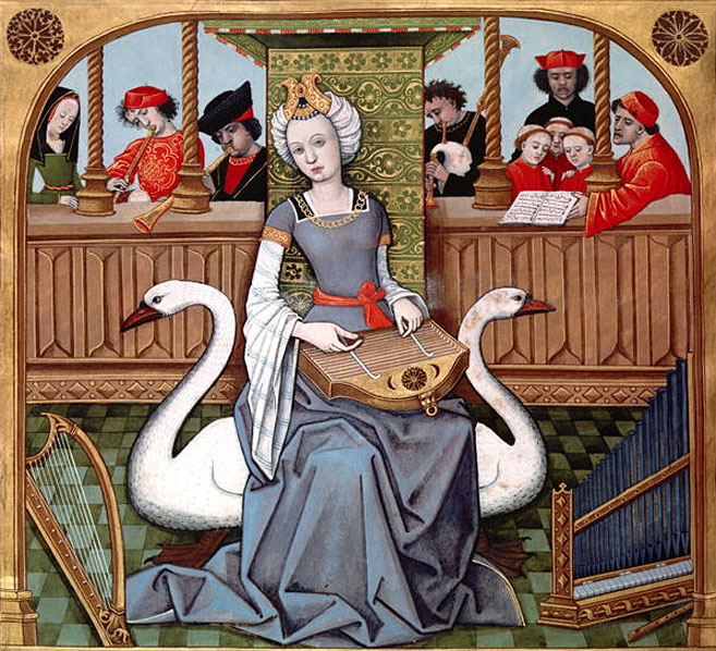 Illustration musique médiévale