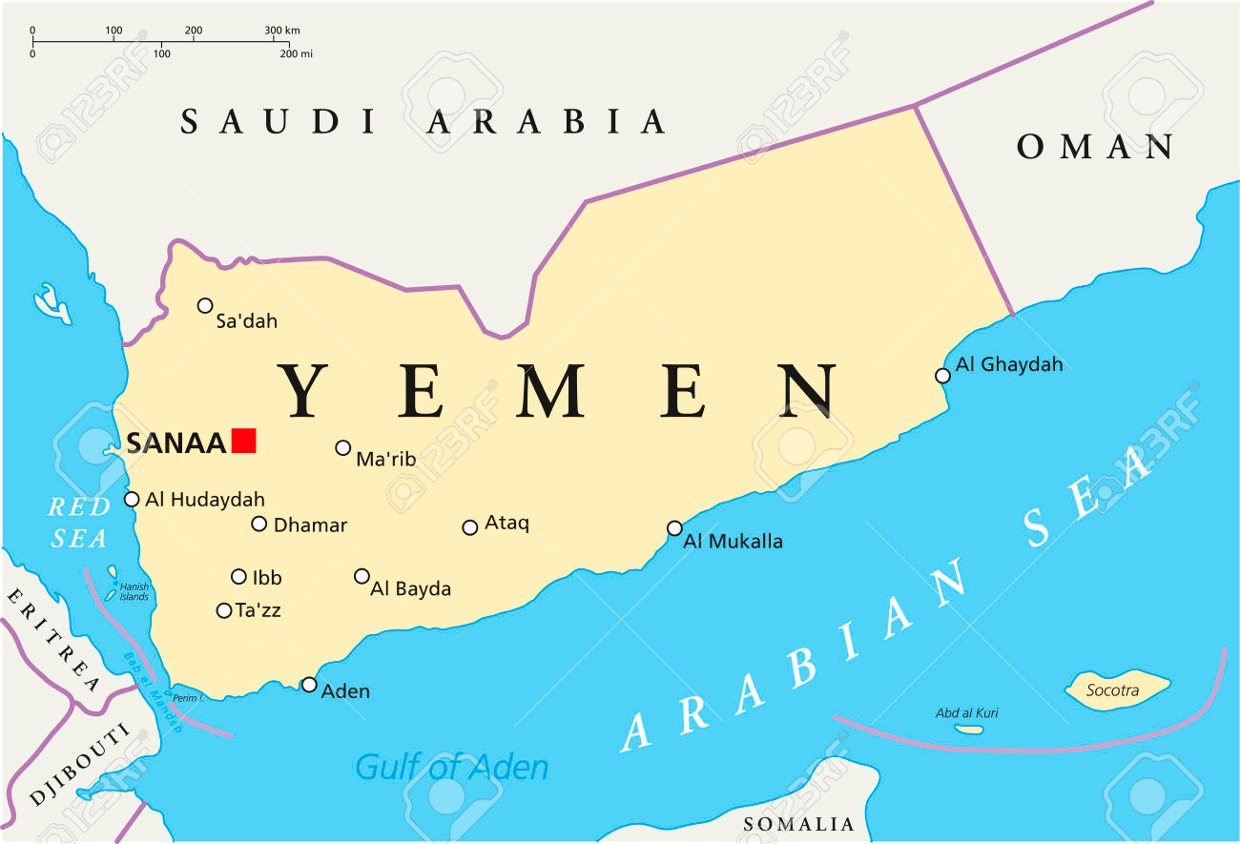 Aden Is A Seaport City In Yemen Located By The Eastern A - Where is yemen located