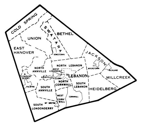 Lebanon County Tax Rates