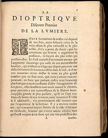 another one of descartes essays la dioptrique in la  another one of descartes essays la dioptrique in la
