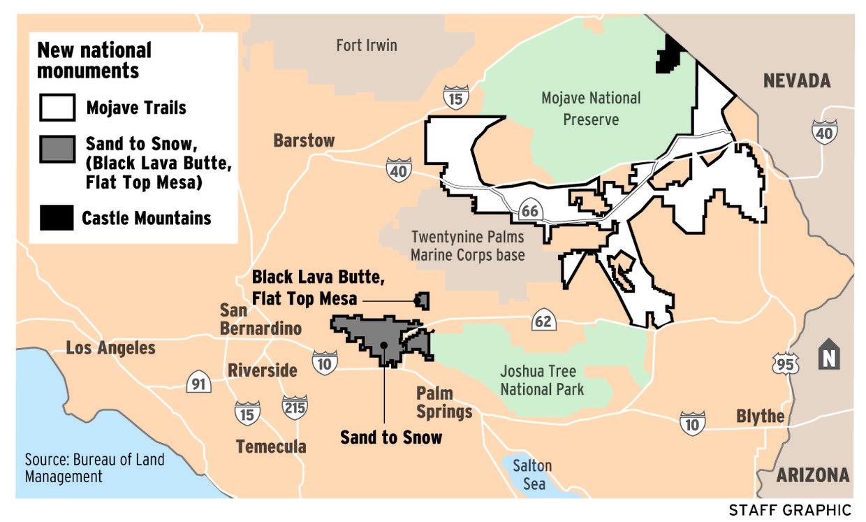 President designates three new national monuments